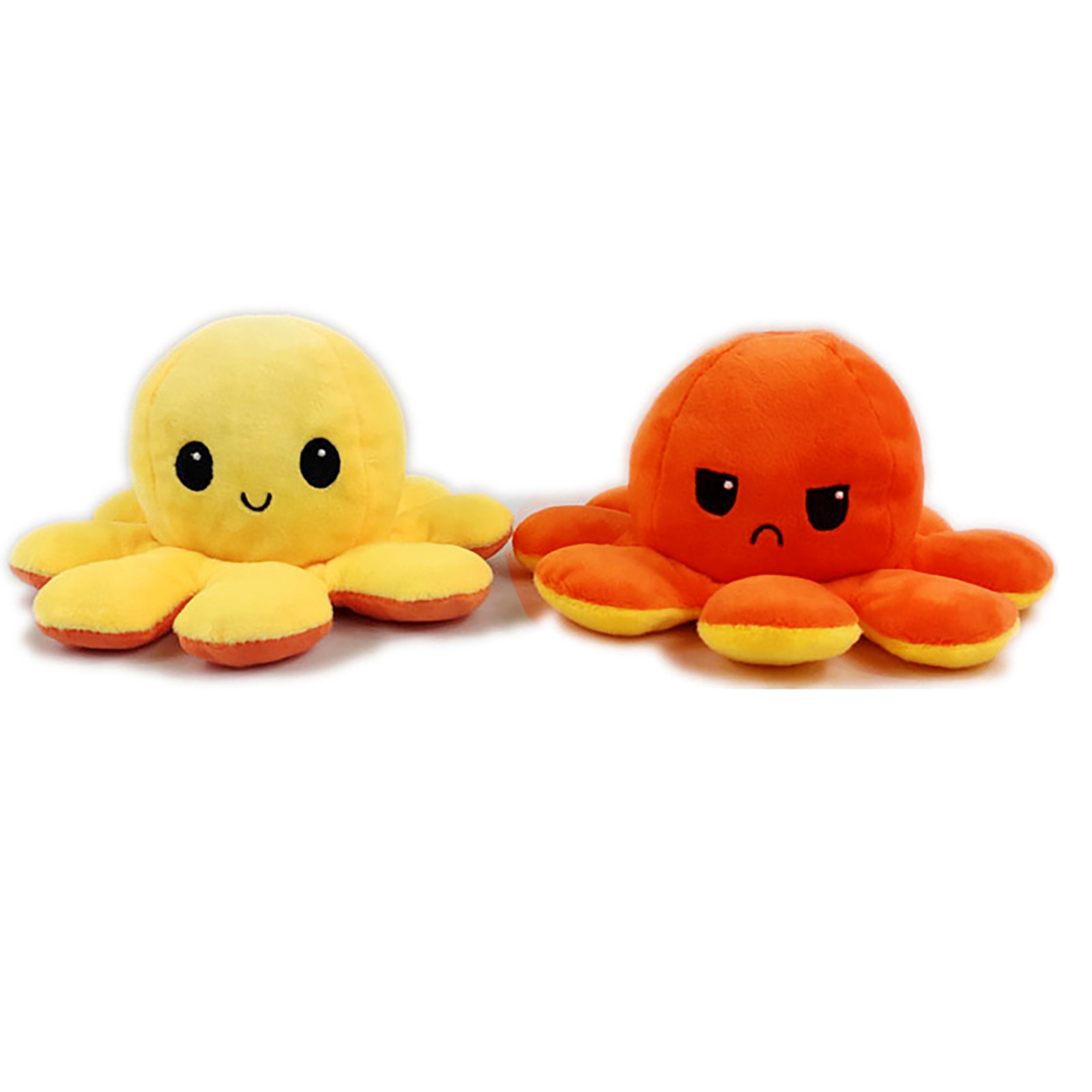 Toy Mascot Double-Sided-Octopus Mood Plush-Toy Stuffed Funny Kids Children for Show Birthday-Gift
