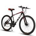 Горный велосипед 24/26 дюйма 21/24/27/30 Скорость переменной Скорость Double Shock для мотогонок  для езды по бездорожью  с студент