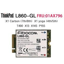 Fibocom L860-GL FRU 01AX796 LTE CAT16 módulo global para Thinkpad x1 carbono 7th 8th Yoga 4th 5th P14S X13 P15S T490 T14S portátil