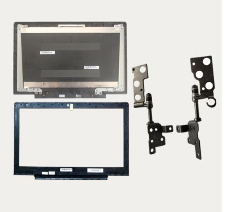 New Cover Case For Lenovo Ideapad 700-15 700-15isk Laptop LCD Back Cover Black/LCD Bezel Cover/LCD Hinges Left And Right Set