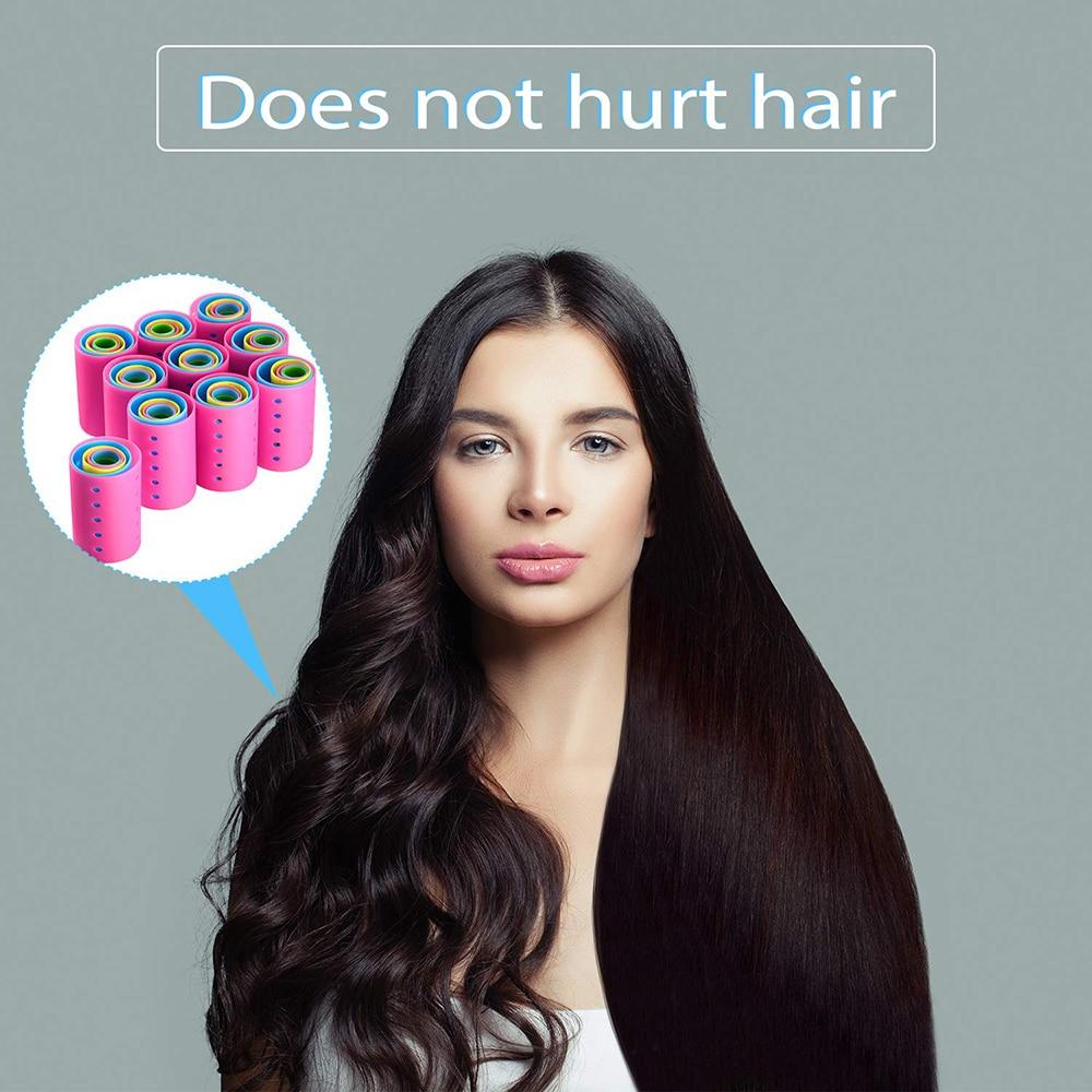 formadores cabelo flexi hastes nagic curler cabelo cachos
