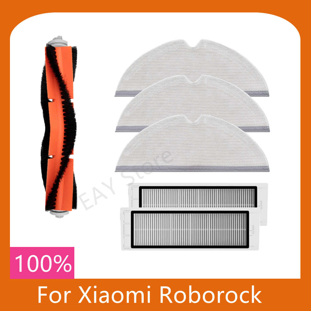 For Xiaomi Mijia Roborock S5 s5max S50 s51 S55 S6 robot vacuum cleaner accessories mop main brush filter detachable accessories