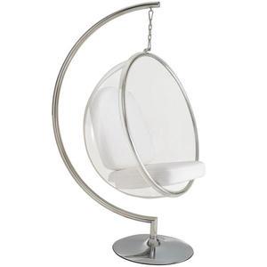 Patio Swings Cradle Balcony Wicker Bubble Vibrating Glass-Basket Louis Fashion Indoor