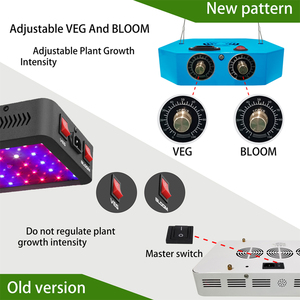 Image 3 - ออกแบบใหม่ LED พืชเติบโตโคมไฟหรี่แสงได้ 1000 วัตต์ COB full Spectrum fitolampy สำหรับในร่มปลูกผักดอกไม้ phyto โคมไฟ