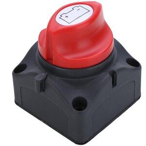 Image 4 - 1pc 24V 600A Auto Batterie Isolator Wichtigsten Batterie Not Pole Trennen Separator Schalter für RV Boot 68*68*74mm