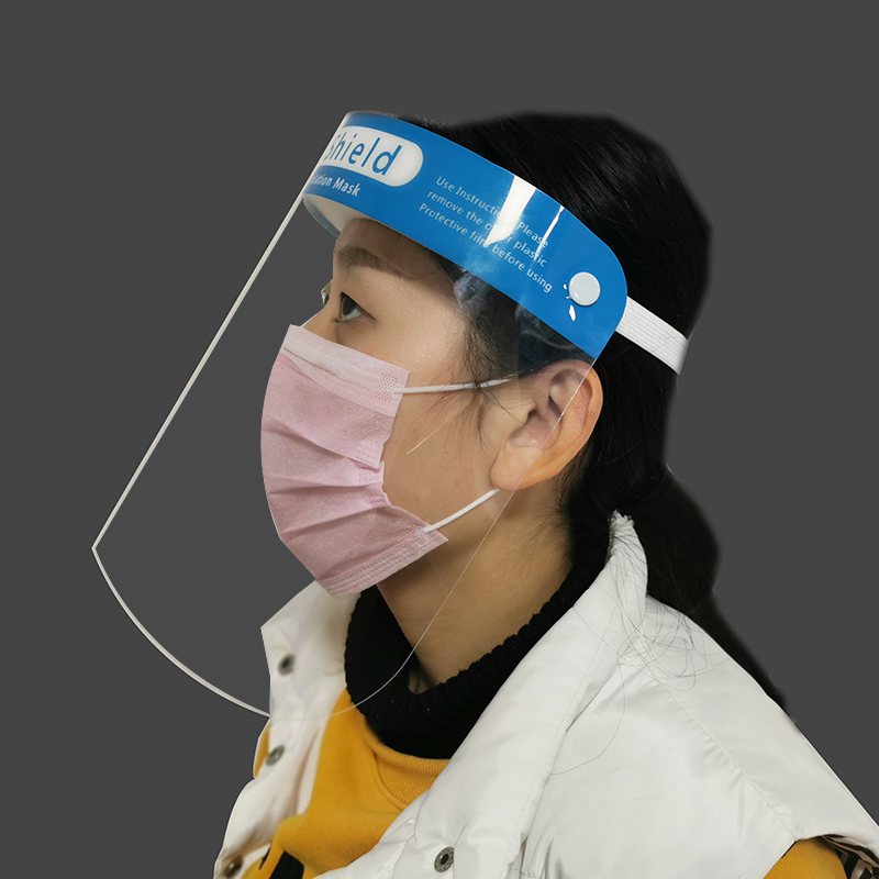 Face Shield 1PC Protective Adjustable Anti Droplet Dust-proof Full Face Cover Mask Visor Shield Droplet Virus Windproof Washable
