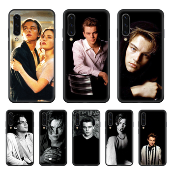 Leonardo DiCaprio Celebrity film Phone case hull For Samsung Galaxy A 50 51 20 71 70 40 30 10 E 4G S black Etui painting funda image