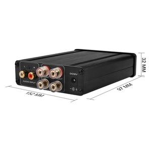 Image 2 - TDA7498L Hifi Stereo dijital güç amplifikatörü 80Wx2 AV amplifikatörler 2.0 kanal ses ses AMP DIY ev sineması ses sistemi