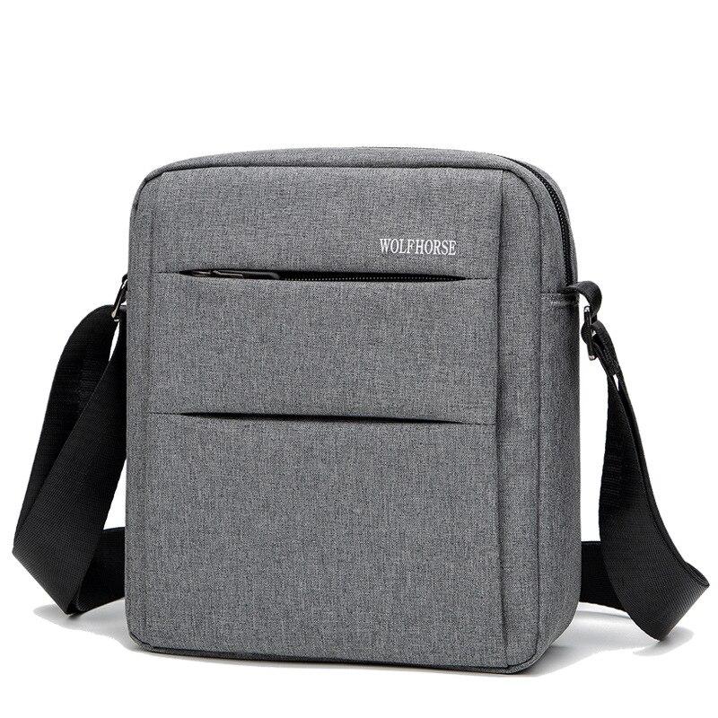 2020 Men's' Oxford Cloth Single Shoulder Business Messenger Bag Cross-body Leisure Waterproof Zipper Men's Bag