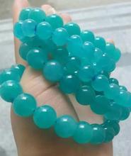 Natural Tianhe Stone Bracelet DIY Jewelry bl;ue stones natural decoration