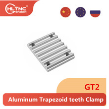 1 pcs Aluminum Trapezoid teeth Clamp for GT2 open synchronous belt