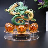 Dragon Ball Z Action Figures Shenron Dragonball Z Figure Set Esferas Del Sfere Del Drago Mensola Figuras DBZ Con Mountain Scaffale