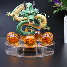 Dragon Ball Z Action Figures Shenron Dragonball Set Esferas Del Balls Shelf Figuras DBZ With Mountain