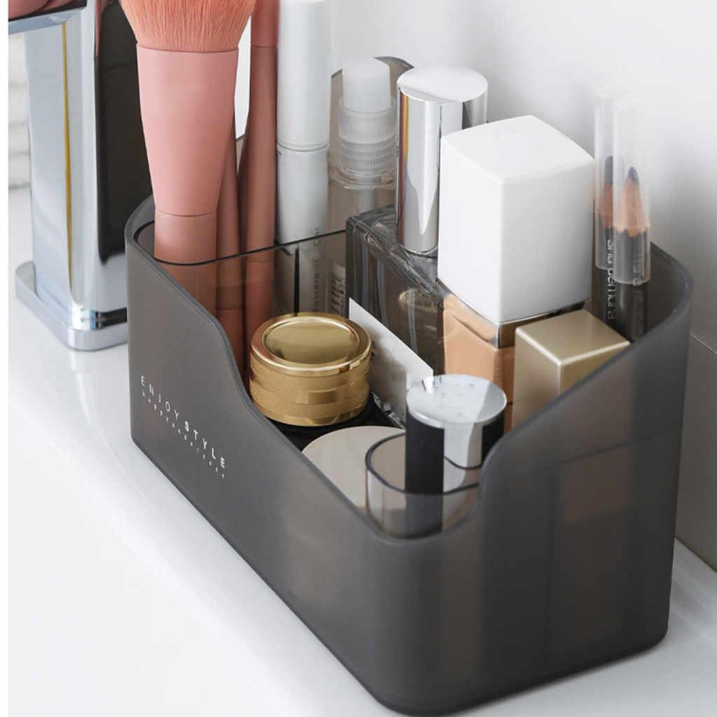 Trucco Scatola di Immagazzinaggio Dell'organizzatore Risparmio di Spazio Desktop Da Ufficio Organizzatore Cosmetico per La Cura Della Pelle Contenitore di Monili di Articoli Vari Per La Casa Organizer # LR4