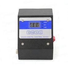 Thermal heat transfer machine temperature control box baking