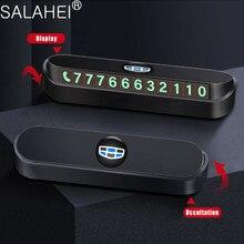 Tymczasowe parkowanie samochodu wizytówka z numerem telefonu dla Geely Vision SC7 MK CK krzyż Gleagle SC7 Englon SC3 SC5 SC6 SC7 styl wnętrza