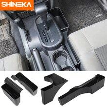 SHINEKA коробка для хранения переключения передач и ручного тормоза для Jeep Wrangler JK 2007 2008 2009 2010