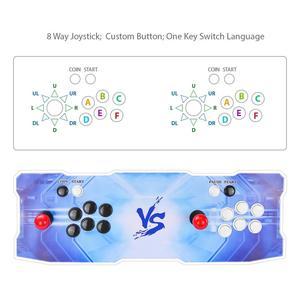 Image 2 - Новая акриловая игровая консоль pandora box X 2020, джойстик для 2 игроков, консоль контроллера, HDMI, VGA, USB выход, ТВ, ПК, 3303