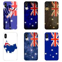Australian National FLAG Emblem สำหรับ Galaxy Alpha Note 10 Pro A10 A20 A20E A30 A40 A50 A60 A70 A80 A90 m10 M20 M30 M40(China)
