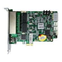 Novastar – système de contrôle Nova msd600, carte d'envoi, 4 ports de filet pour affichage led en acrylique, affichage de fenêtre éclairé