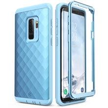 Pour étui Samsung Galaxy S9 Plus (libération 2018) étui robuste sans protection décran de la série Clayco Hera