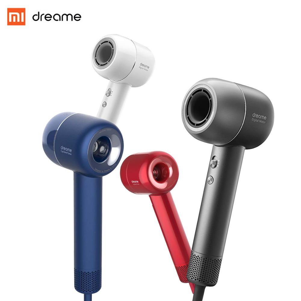 Xiaomi Dreame ヘアドライヤーヘアアーティストプロフェッショナルブロードライヤーインテリジェント温度制御強力な電気ヘアドライヤー  グループ上の 家電製品 からの ヘアドライヤー の中 1