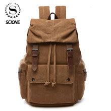 Canvas Laptop Backpack For Men Women School  Mochila Feminina  Fashion Anti Theft Women Travel Backpacks School Backpack
