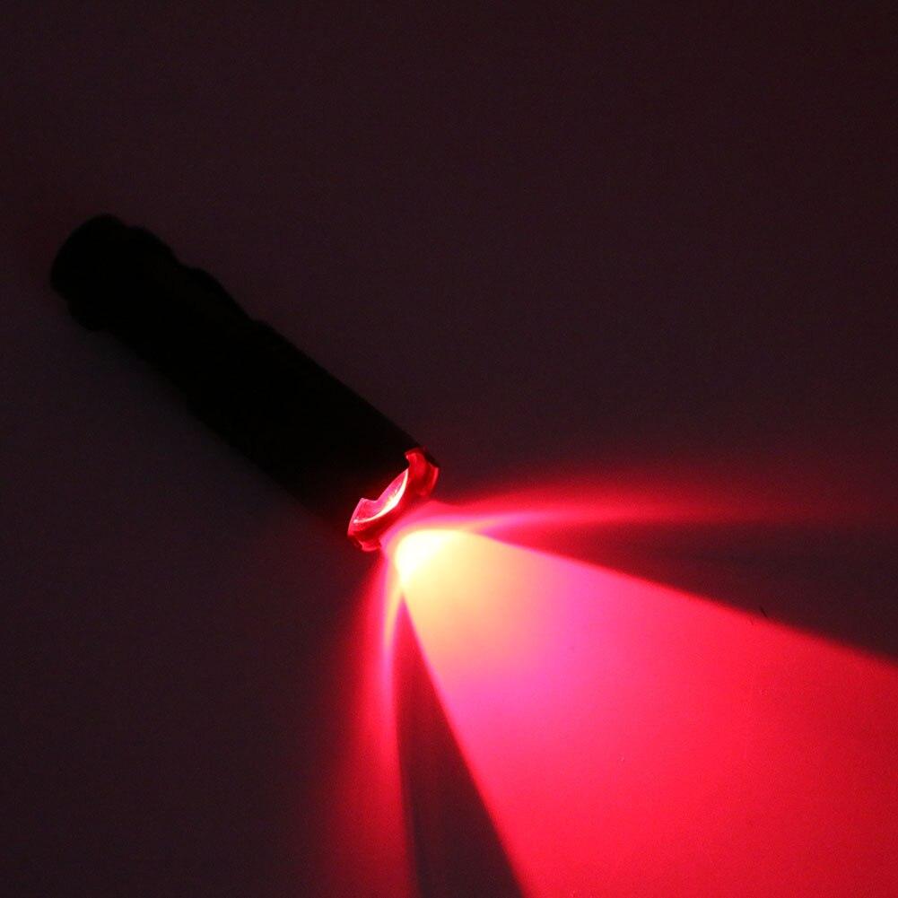 XYXP SK68 Mini Flashlight Lamp XPE 1-mode Red Light Tactical Flashlight Hunting Rifle Torch Lamp Lanternas Lighting