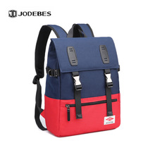 Backpack Cross-Border New Style Waterproof Wearable Outdoor Casual Versatile Contrasting Color Travel Bag