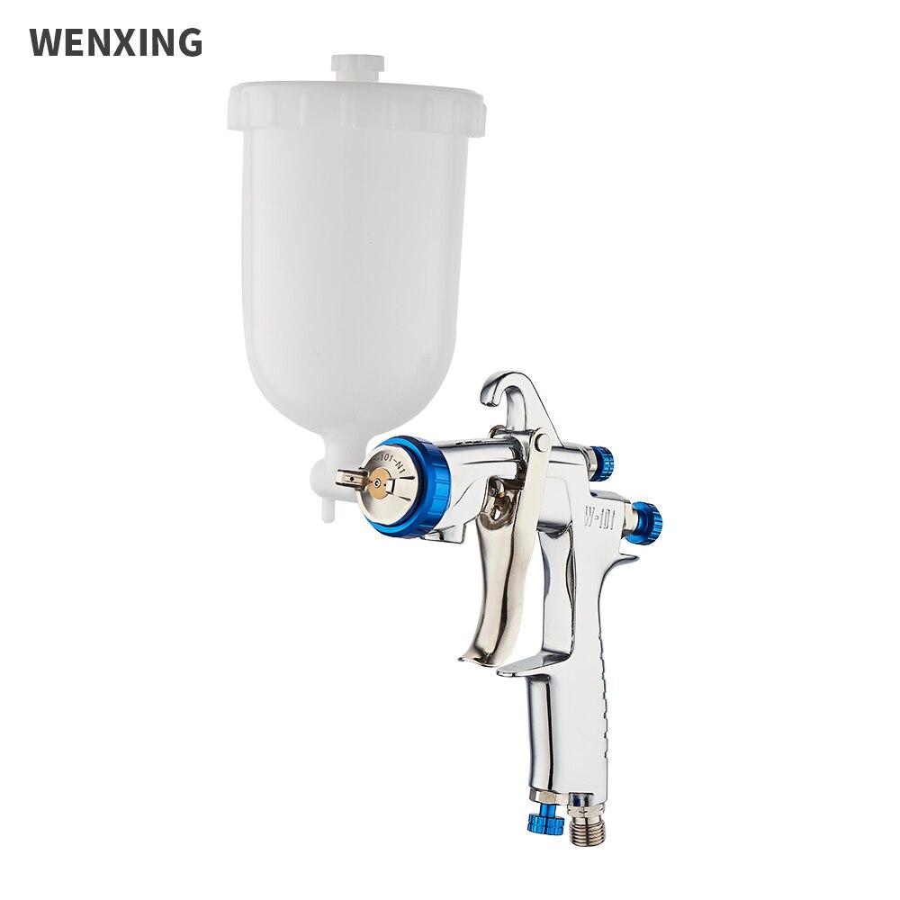 WENXING 0 8 1 0 1 3 1 5 1 8mm W101 Spray Gun Hand Manual Airbrush W-101 Pneumatic Gun For Car Painting