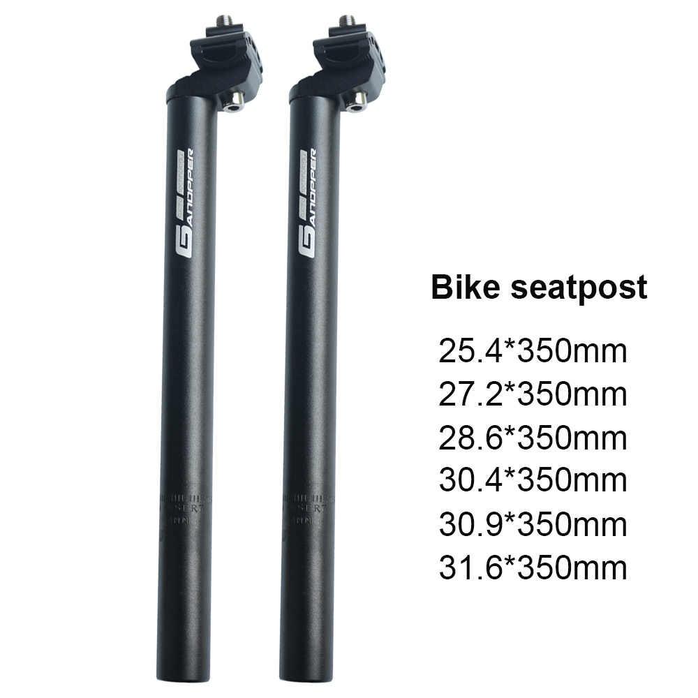 Tija de sill/ín para Bicicleta de monta/ña SENQI aleaci/ón de Aluminio, 25,4, 27,2, 28,6, 30,4, 30,8, 31,8 y 33,9 x 350//450//500//530 mm