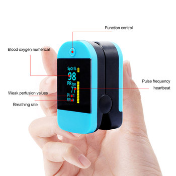 Medical finger clip oximeter OLED Display Digital Pulse Oximeter Heart Rate Monitor Pulse Oximetry SpO2 Health Monitor