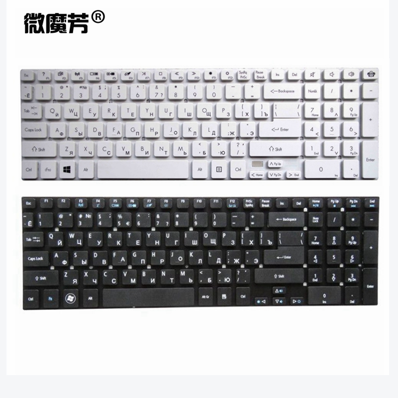 Russian Laptop Keyboard for Acer for Aspire V3 571G V3 571 V3 551 V3 551G V3 731 V3 771 V3 771G V3 731G MP 10K33SU 6981 RU|keyboard for acer|russian laptop keyboard|laptop keyboard for acer - title=