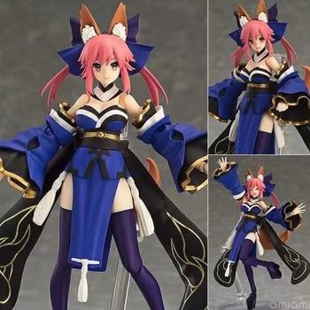Figma 304 Fate EXTRA Caster Tamamo no Mae Fox Girl BJD PVC Action Figure Toys