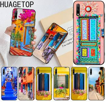 Fundas de teléfono negras suaves para Huawei Honor 30 20 10 9...