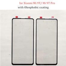 Panel de pantalla táctil de cristal de 6,39 pulgadas para Xiaomi Mi 9T/ Mi 9T Pro, reparación de piezas de repuesto