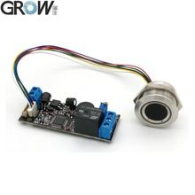 Access-Control-Board Ring-Indicator-Light Fingerprint Grow K202 R503 DC12V Consumption
