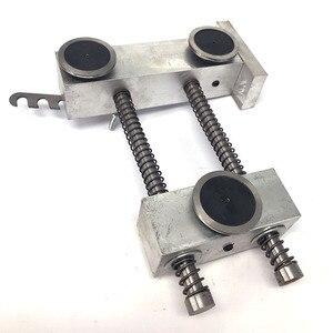 Image 4 - WEDM מוליבדן חוט אטימות רגולטור שלושה מדריך גלגל סוג עבור CNC חוט לחתוך מכונה