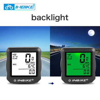 INBIKE Wired Bicycle Odometer Waterproof Backlight LCD Digital Cycling Bike Computer Speedometer Suit for Most Bikes цена 2017