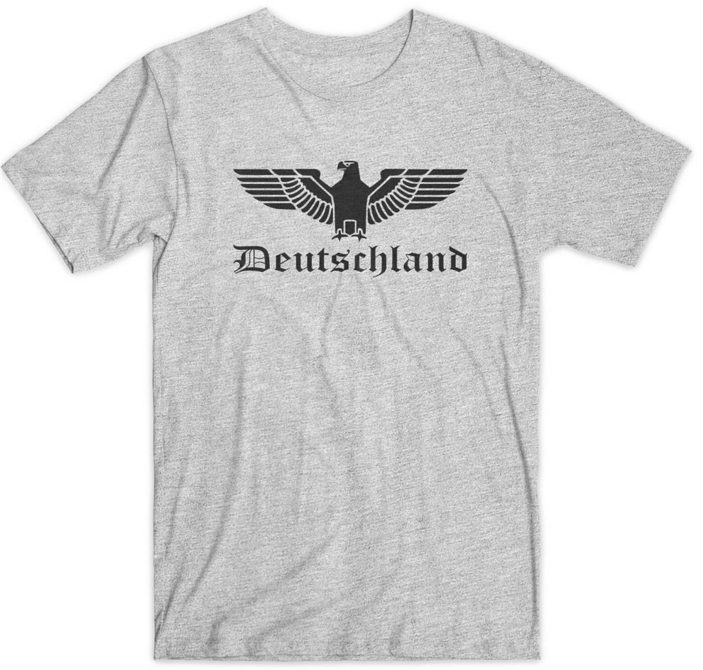 Deutschland German Eagle T-Shirt Germany Summer Tee Shirt