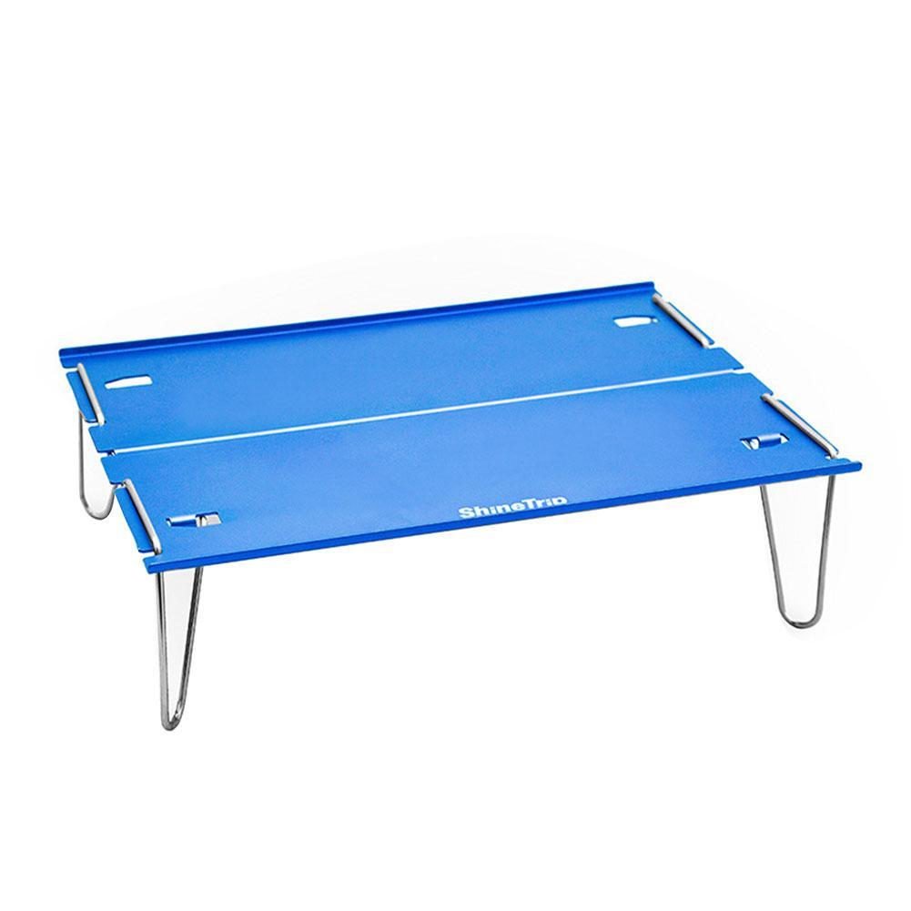 29.8*21*8.4cm mesa de acampamento portátil caminhadas com