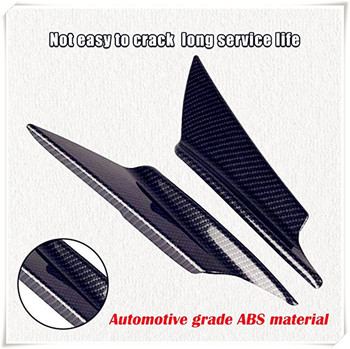 Car Body Bumper Wind Knife Carbon Fiber Spoiler for BMW E34 F10 F20 E92 E38 E91 E53 E70 X5 M M3 E46 E39 E38 E90 image