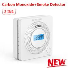 Carbon-Monoxide-Detector Protection-Alarm Voice-Warn-Sensor Co Home-Security 2-In-1 Led-Display