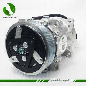 Image 2 - SANDEN 7V16  AC Compressor for PEUGEOT 306 406 for CITROEN XANTIA  6453FE 6453GA 6453L5 9613260680 9640486480 1106 1227 SD7V16