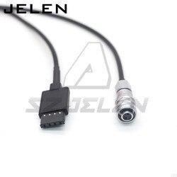 DJI RONIN-S zasilanie do 2-pinowego złącza żeńskiego do (BMPCC 4K 6K)Blackmagic kieszonkowy aparat kinowy BMPCC 4K kabel zasilający