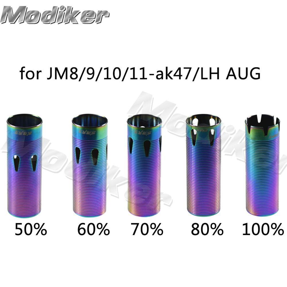 50-100% Swallow Tail Multihole Air Cylinder For JM Gen.8 M4A1/9 /10/LH AUG/JM-J11-ak47 Water Gel Beads Blaster Bluing Dazzle