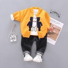 Diimuu Peuter Baby Jongens Kleding Kinderen Jongen Kleding Katoen Outfits Herfst Mode Casual Sport Cartoon Bovenkleding Set