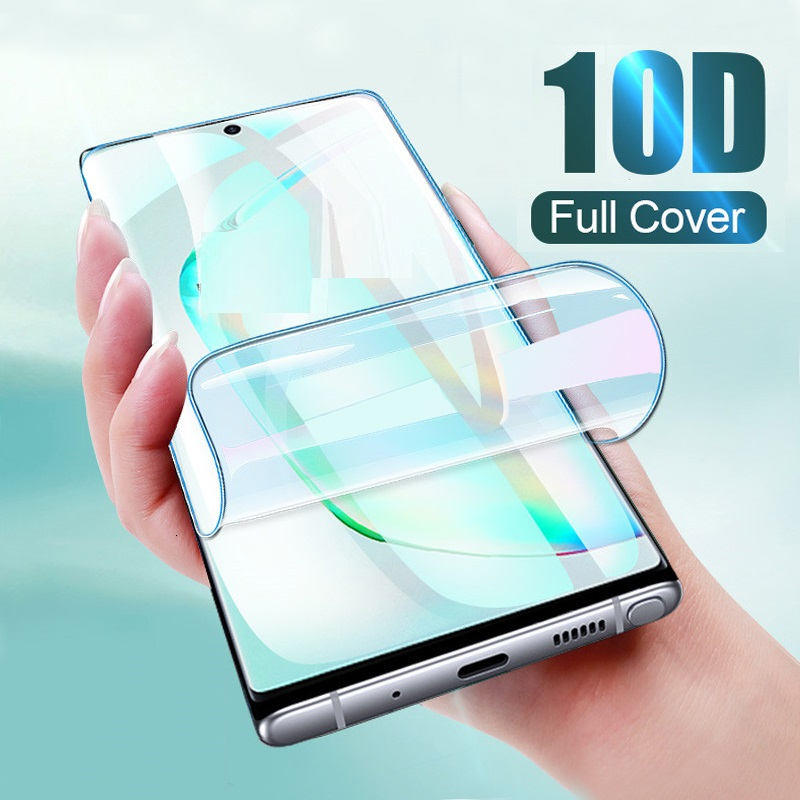 Full Cover Hydrogel Film For <font><b>Samsung</b></font> Galaxy Note 9 10 <font><b>A</b></font> 10 20 30 <font><b>40</b></font> 50 60 70 M10 M20 A20E New Screen Protector For Not <font><b>Glass</b></font> image