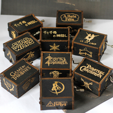 Hot Sale Wholesale Wooden Hand Crank Music Box Game of Thron