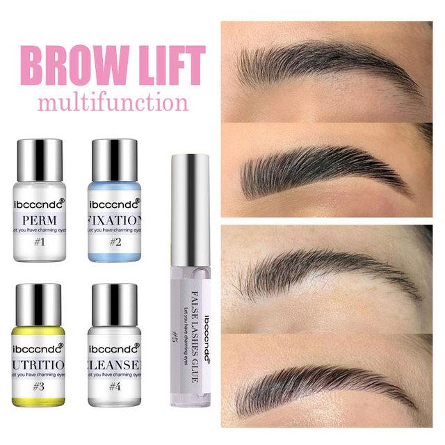 Eye Lash & Brow Lift Perming Eyelash Lift Extension Kit Curling Eye lash Glue Wave Lotion for Home Use Beauty Salon Dropshipping 1